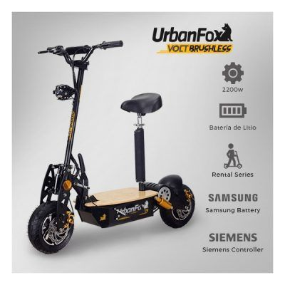Patinetes 2200w urban volt brushless