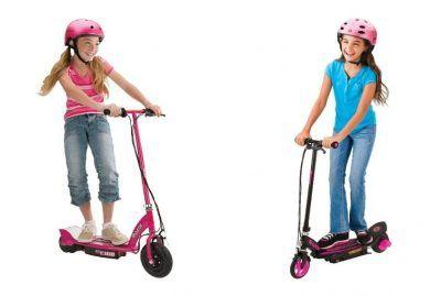 Patinetes eléctricos niñas rosa