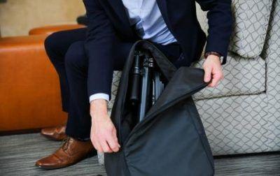 Patinetes eléctricos plegables mochila