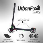 patinetes eléctricos urban fox rocks