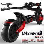 patinetes eléctricos urban fox rocks x2