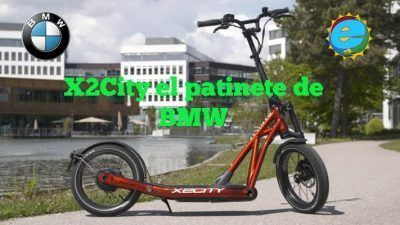 Patinetes eléctricos x2city bmw