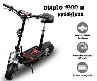 Patinetes raycool brushless 1900w