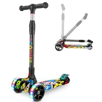 Patinetes scooter luces