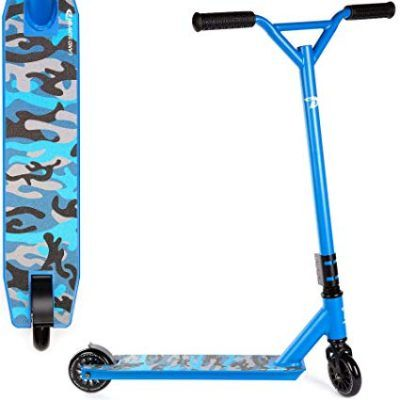 Patinetes scooter saltos