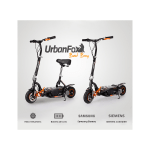 patinetes urban fox bad boy 400w