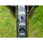 protector cuadros bicicletas transparente