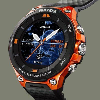 Relojes casio pro trek smart