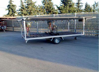 Remolques para transportar bicicletas