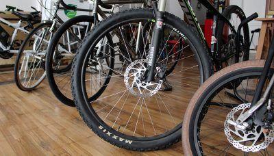 Ruedas de bicicletas de montaña
