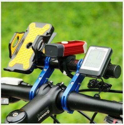 Soportes linterna bicicletas
