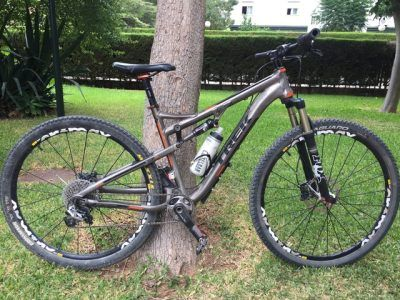 Trek doble suspension